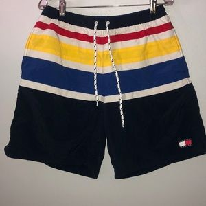 Vintage Tommy Hilfiger Swim trunk shorts Sz M